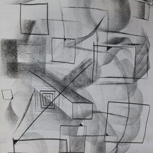 CHARCOAL DRAWING ART BY KARTER